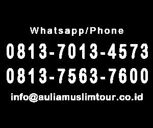 nomor kontak medan muslim tour